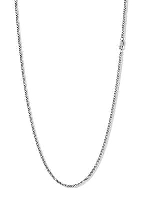 Cuban Sterling Silver Chain