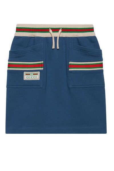 Web Cotton Skirt