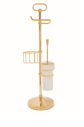 Cylinder Toilet Brush Stand