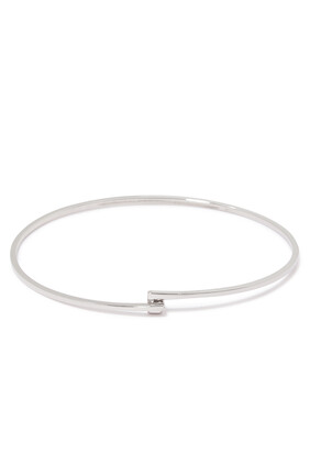 Thin Silver Cuff