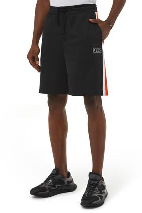VLTN Tag Color-Block Shorts