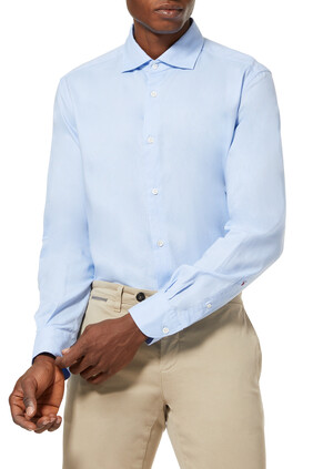 Slim Fit Collar Shirt