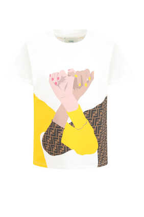 Graphic Cotton T-Shirt