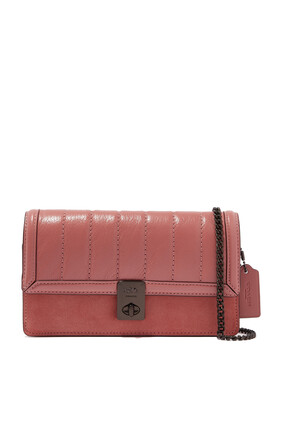 Hutton Leather Clutch