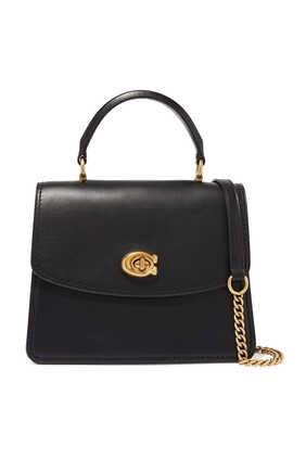 Parker Top Handle Leather Bag