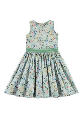 Wild Flower Printed Dress