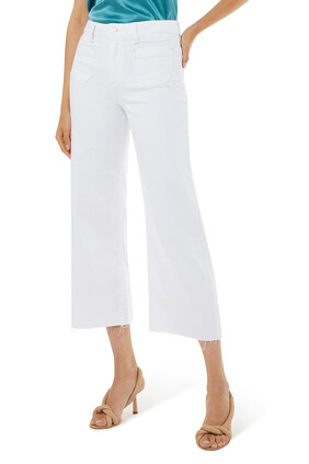 Anessa Patch Pocket Pants