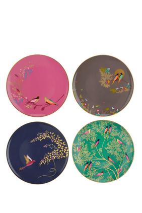 Chelsea Cake Plates, Set of 4