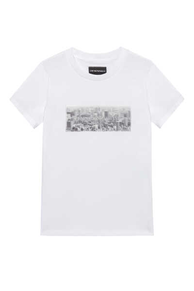 City Hologram Graphic T-Shirt