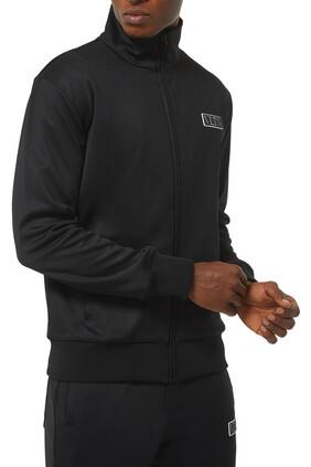 VLTN Tag Technical Cotton Sweatshirt