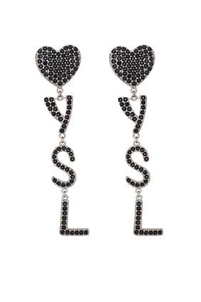 Opyum YSL Heart Earrings