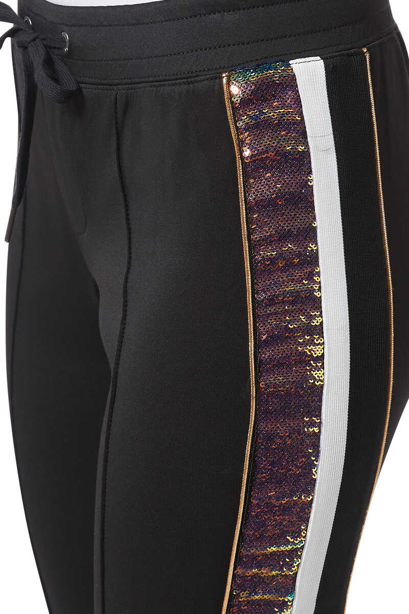 H19 Sequin Stripe Track Pants image thumbnail number 4