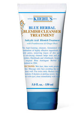 Blue Herbal Acne Cleanser Treatment