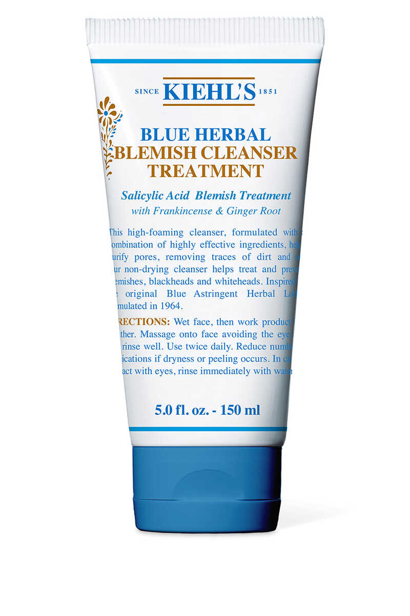 Blue Herbal Acne Cleanser Treatment image number 1