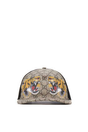 Tigers Print GG Supreme Baseball Hat