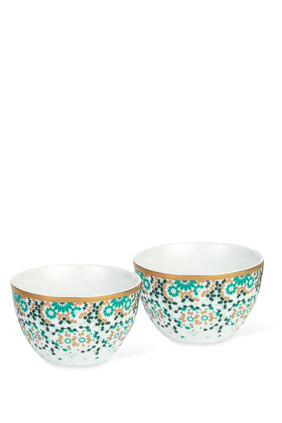 Mirrors Condiment Bowls, Set of Two