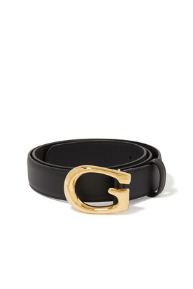 Gold G Belt