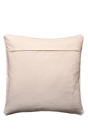 Embroidered Circle Cushion