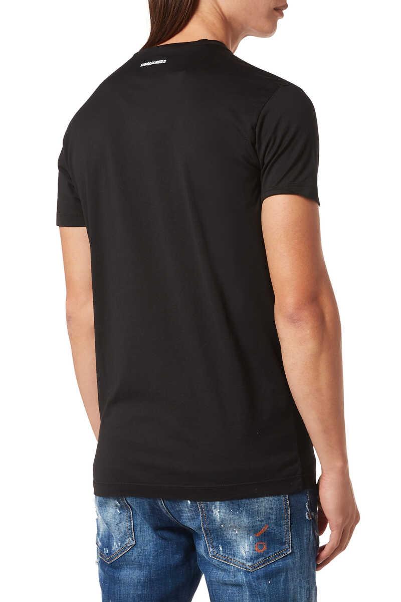 D2 Print T-Shirt image number 3