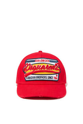 Embroidered Patch Baseball Cap