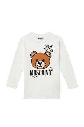 Starry Teddy Bear Oversized T-Shirt