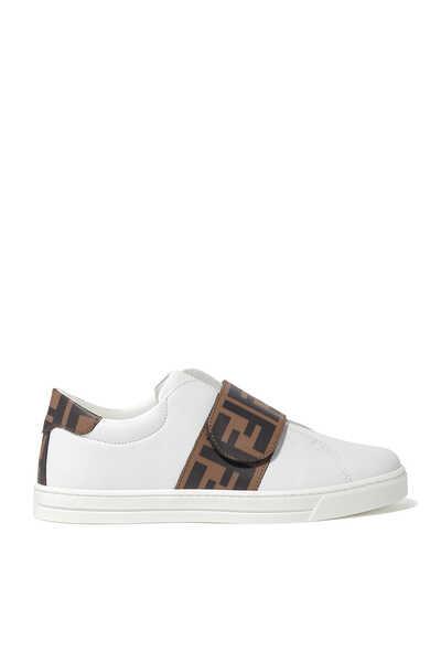 FF Logo Velcro Sneakers