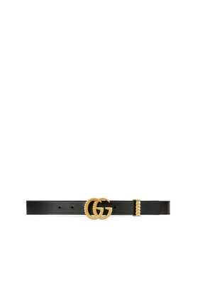 Torchon Double G Leather Belt