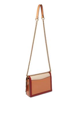 Hutton Colourblock Leather Shoulder Bag