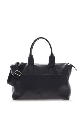 Jemima Leather Changing Bag