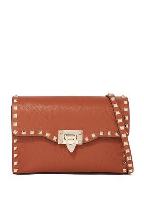 Valentino Garavani Small Rockstud Leather Cross-Body Bag
