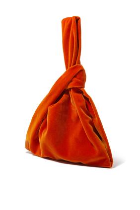 Jen Velvet Clutch Bag