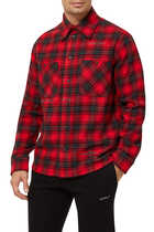 Stencil Flannel Check Shirt