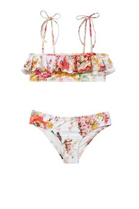 Mae Frill Bandeau Bikini
