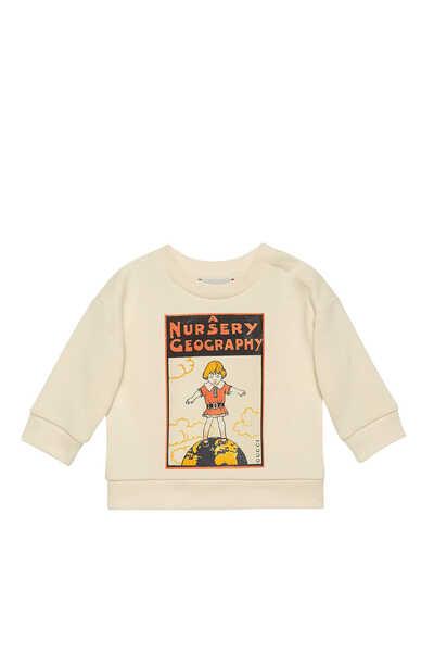 Nursery Cotton Sweatshirt