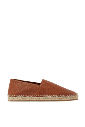 Leather VLTN Espadrilles