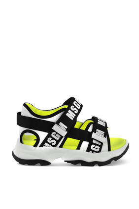 Logo Velcro Sandals