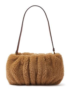Bean Calf Hair Shoulder Bag