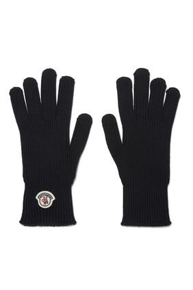 Logo Wool Gloves