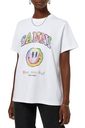 Smiley Logo T-Shirt