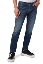 Medium Wash Slim-Fit Jeans