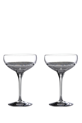Waterford Mixology Circon Cocktail Coupe Glasses, Set of Two