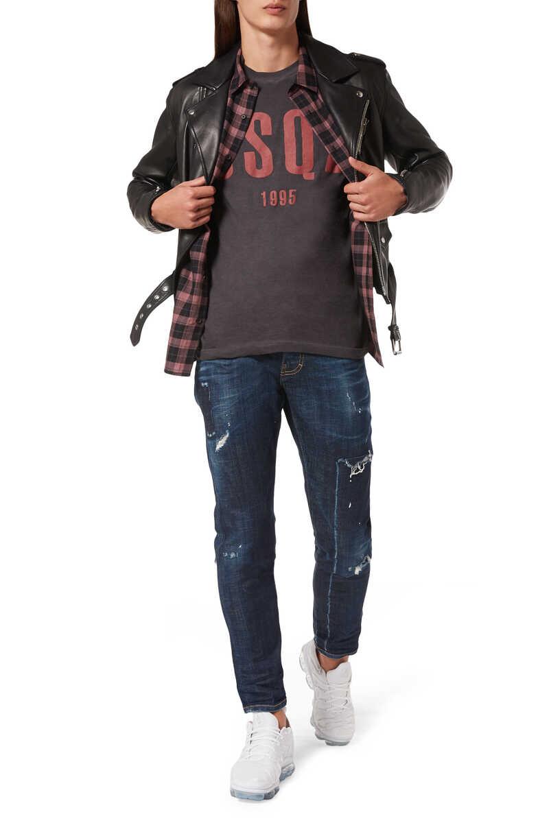 Cool Guy Rip Off Denim Jeans image number 2