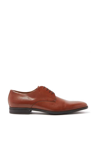 Kensington Leather Derby Shoes