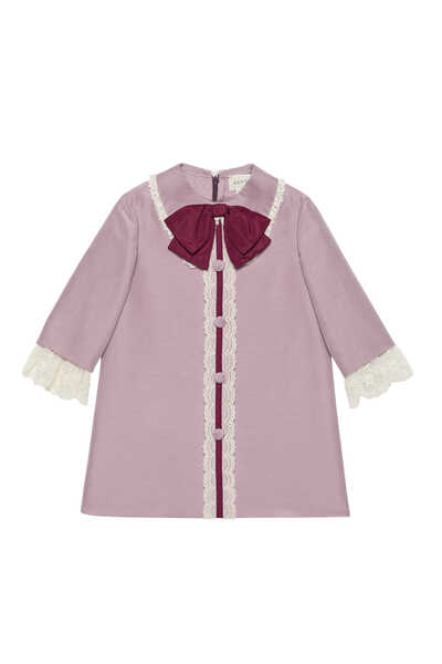Cotton Silk Cady Dress