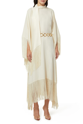 Mrs Ross Fringed Kaftan