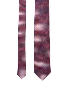 Patterned Print Tie