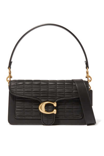 Tabby 26 Pleated Leather Shoulder Bag