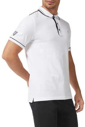 Tipped Pique Polo Shirt