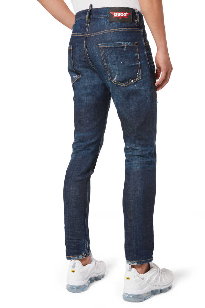 Cool Guy Rip Off Denim Jeans image number 3