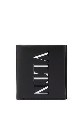 Valentino Garavani VLTN Leather Wallet
